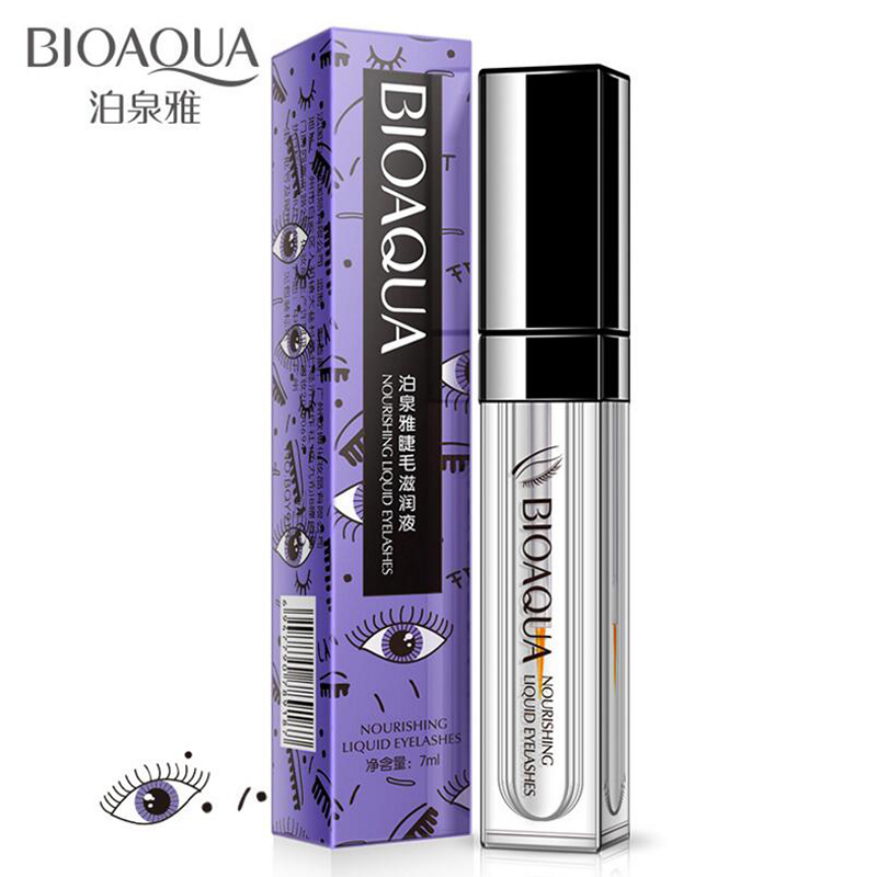 BIOAQUA Eyelash Nourishing Fluid Growth Treatments Liquid Eye Lash Serum Enhancer Moisturizing Build Thicker Longer Curller