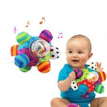 Детские шар-погремушка детская игрушка для хватания Забавный шар милые плюшевые мягкие ткань рука погремушки образование игрушечные лошадки детский подарок