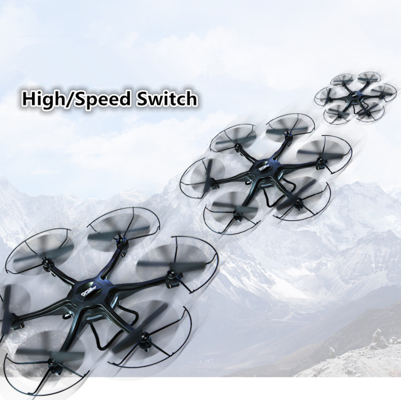 large size helicopter 2 4GHz 6 Axis Remote Control rc Quadcopter H1 HD font b camera