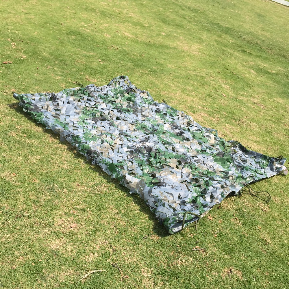 1.5x4m caça camuflagem net 100% oxford poliéster