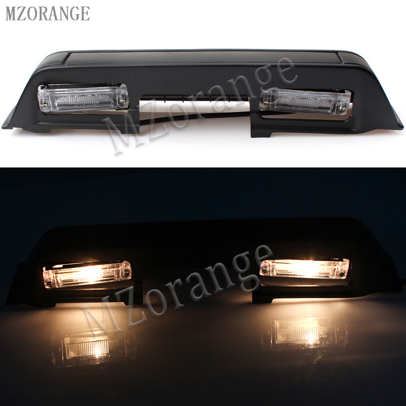 MZORANGE rear license lamp Light back door For v32 V33 For <font><b>Mitsubishi</b></font> <font><b>Pajero</b></font> for MONTERO rear stop lamp WITH BULB 1990-2000 image