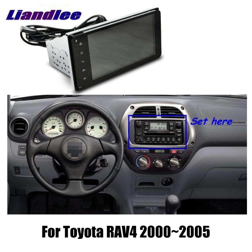 Dla Toyota RAV4 2000 2001 2002 2003 2004 2005 samochodów z systemem Android 8.1 Navigation multimedialne stereo Radio odtwarzacz GPS ekran dotykowy HD telewizor z dostępem do kanałów