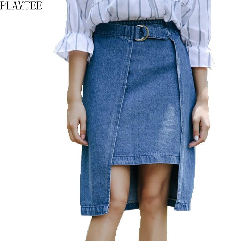 Купить юбку джинсовую дешево
