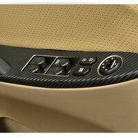 Car Auto Accessories Door Frame Sticker Window Switch Sticker For Hyundai Verna Solaris 2011 2012 2013