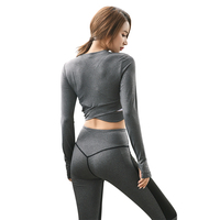 Women Sport Wear Suit for Fitness Yoga Sportswear Clothing Female Gym Running Tights Workout Clothes Two Pieces Leggings Sets
