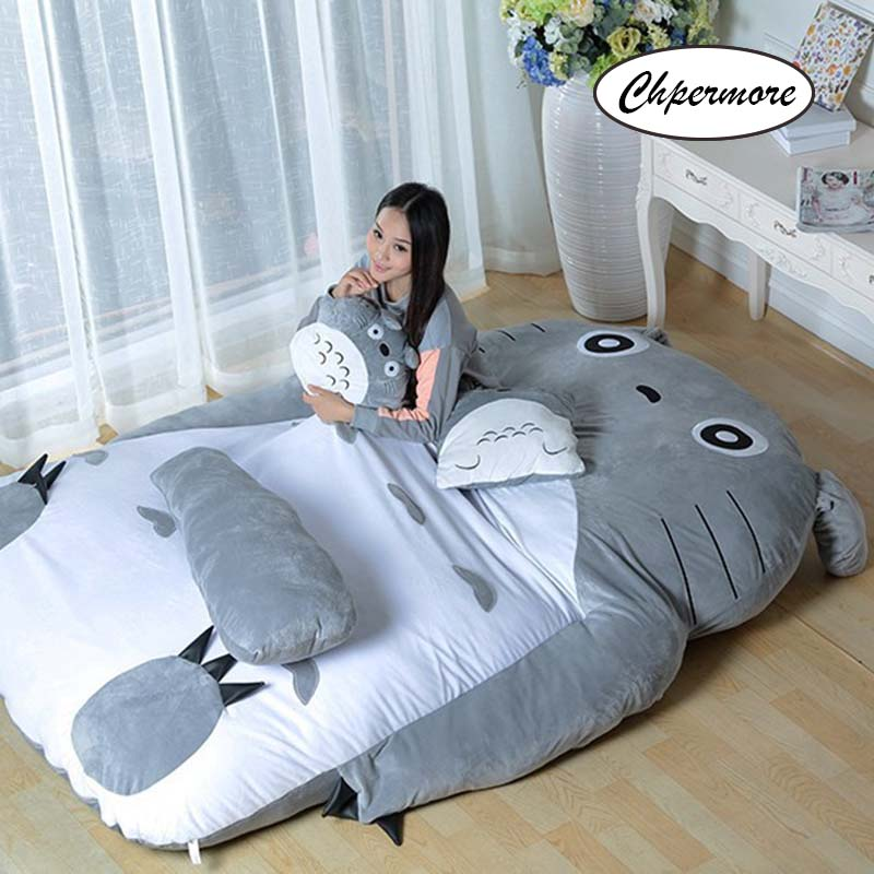 Image 2 - Chpermore Big size Cute Cartoon Mattresses Comfortable Living room Hotel tatami Multifunction Thicken Mattress King Queen Size-in Mattresses from Furniture