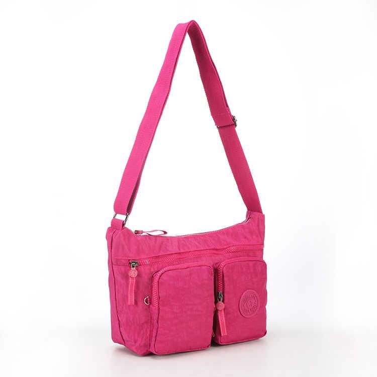 TEGAOTE bolsos de lujo de Mujer bolsos de diseñador de nailon Bolsas de Mujer bolso de hombro de Mujer Bolsas de Crossbody sólido saco una bolsa principal 955
