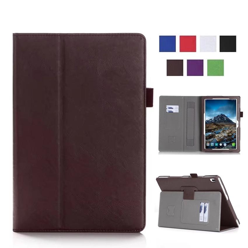 Tab4 10 X304F/N PU Leather Case Cover 10'' Stand Skin for Lenovo TAB 4 10 TB-X304N X304F Smart Tablet Wallet Case with Card Slot free shipping new 10 1 original stand magnetic leather case cover for lenovo ibm thinkpad 10 tablet pc with sleep function
