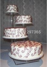 Acryl Günstige Hochzeitsdekoration/4 hochzeitstortenständer
