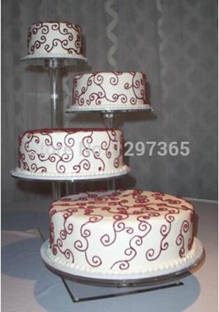 décoration de mariage / 4 niveaux belle belle clair détachable pas - Cuisine, salle à manger et bar
