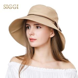 FANCE Women Summer Sun Hat Wide Brim Chapeu Feminino Praia Chapeau Femme For Girl Packable UPF50+ UV Bucket Cap Cord Beach 69046