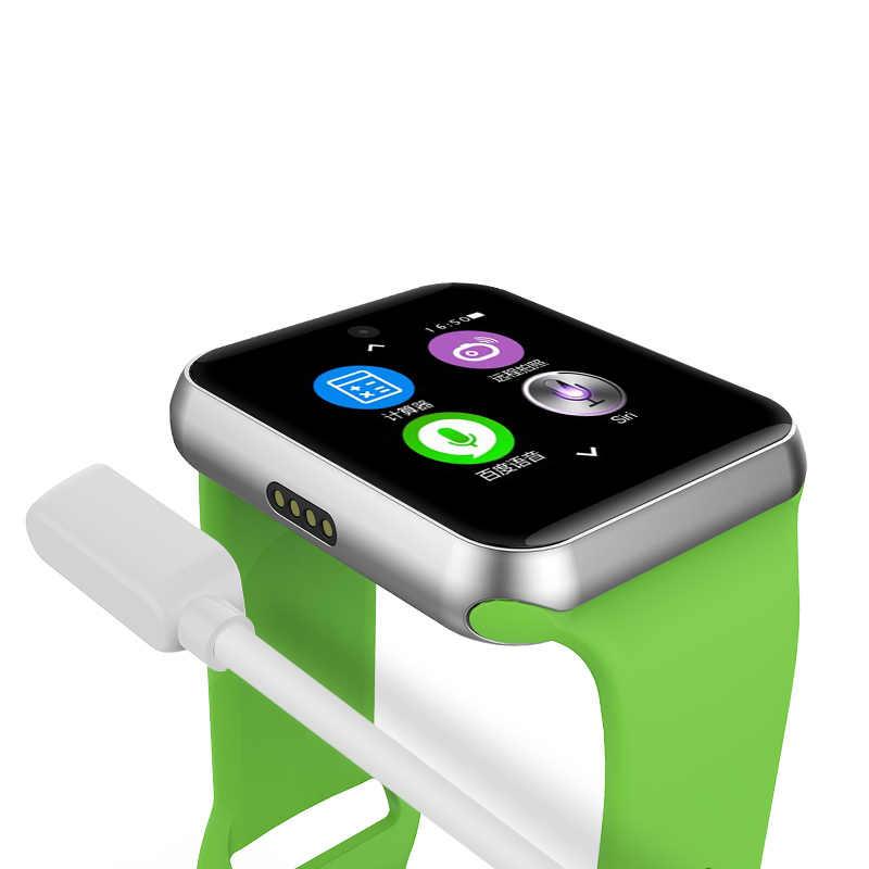 Slimy บลูทูธสมาร์ทนาฬิกา DM09 หน้าจอ IPS Smartwatch สำหรับ Apple นาฬิกา Huawei Android IOS โทรศัพท์