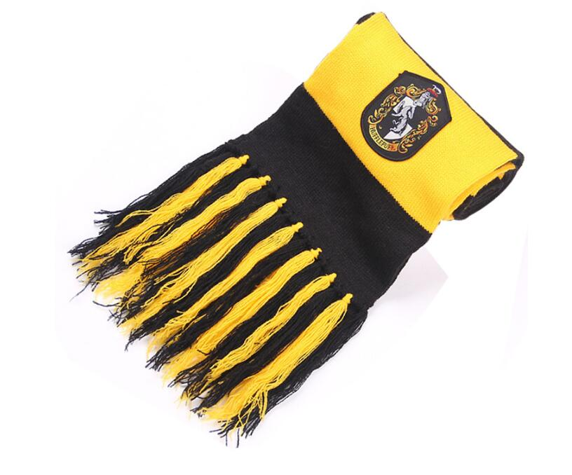 2017 New children college scarves Gryffindor Wrightlin slytherin scarf scarves lengthened thicker Holiday gifts A778