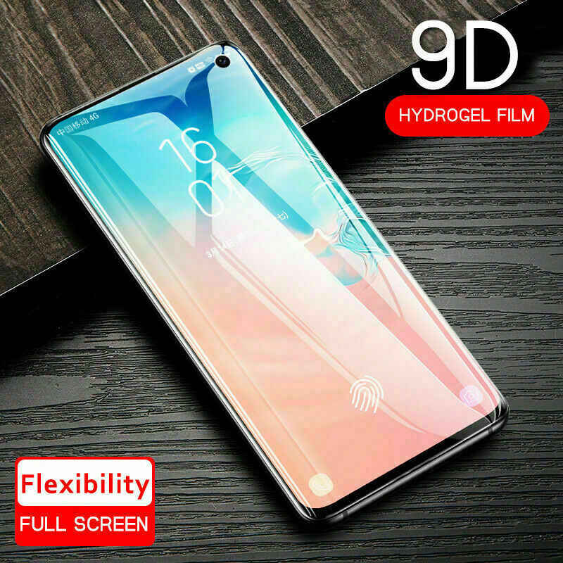 Soft PET Screen Protector For Samsung Galaxy S10 Plus Full Cover Film For Samsung Galaxy S10E Ultra Thin Fingerprint Front Film