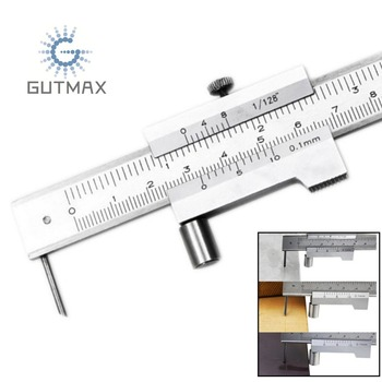 Parallel Vernier Calipers 0-200mm With Carbide Scriber Marking Caliper 0.1mm Woodworking Tools Measuring HY34 parallel
