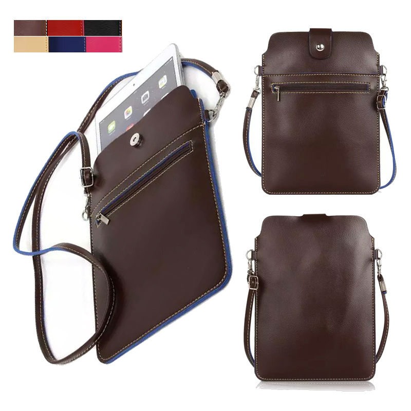 Fashion PU Leather Slim Sleeve Bag for ASUS ZenPad S 8.0 Z580CA, VivoTab 8 M81C, ME581CL, FE380CG, M80TA Tablet Shoulder Bag