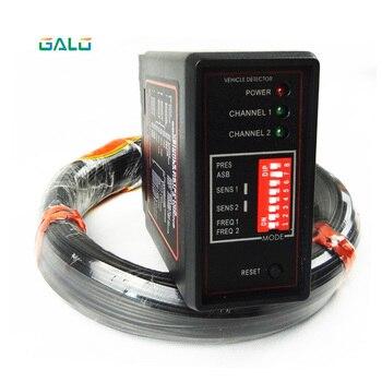 Двойной петли канала детектор для автомобиля обнаружения с 50 м датчика провод катушки использовать для системы парковки