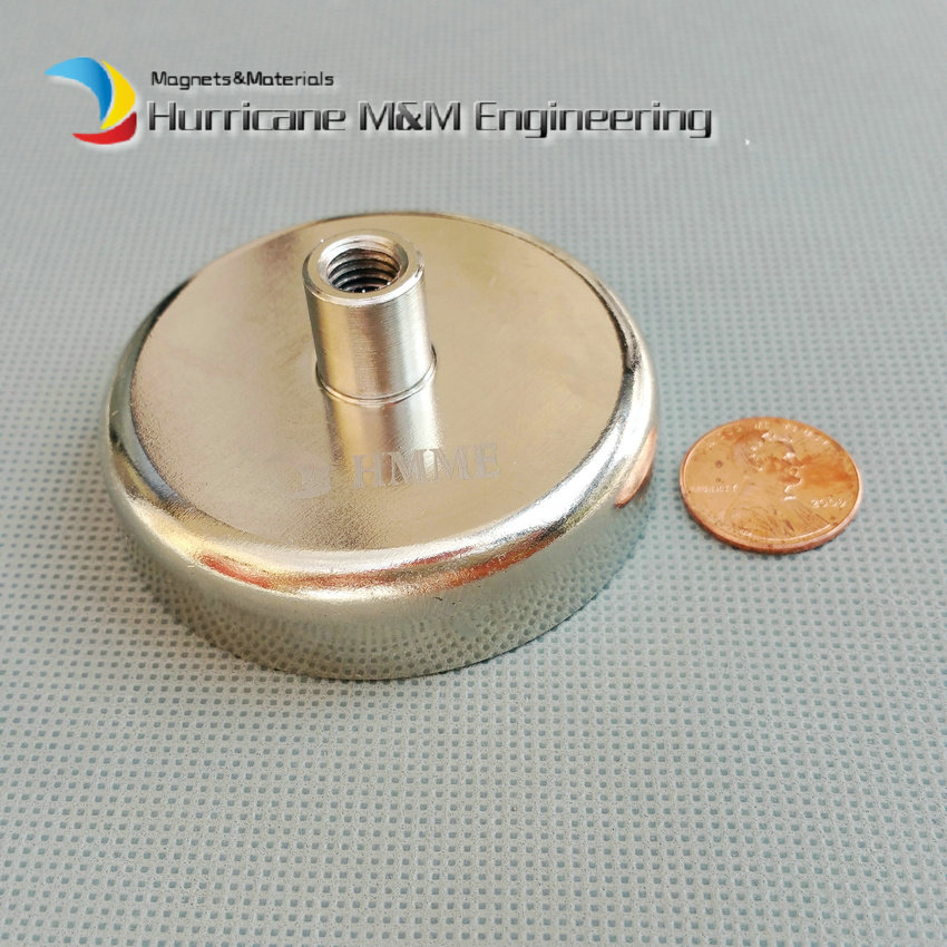 1pcs Mounting Magnet Diameter 60mm Magnetic Lifting Pots with Thread Neodymium Permanent Strong Holding Magnet подъемник foshan city hui strong lifting wkto 4