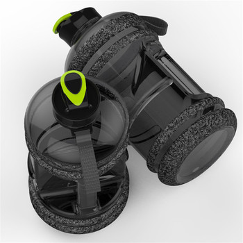 Large Capacity 2.2L Pastic Water Bottles Camping Training Bicycle Drink Water Bottle Outdoor Sports Portable Fitness Kettle 6