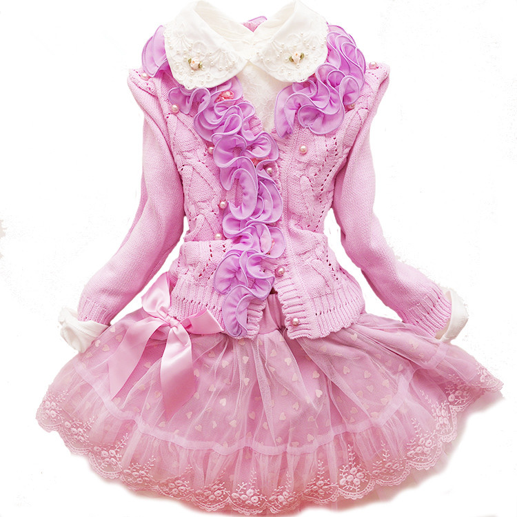 Princess, Lace, Winter, Prom, Dresses, Flower