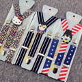 high quality 2.5cm boys and girl new Cartoon Clip-on elastic Braces kids baby Suspenders children accessories