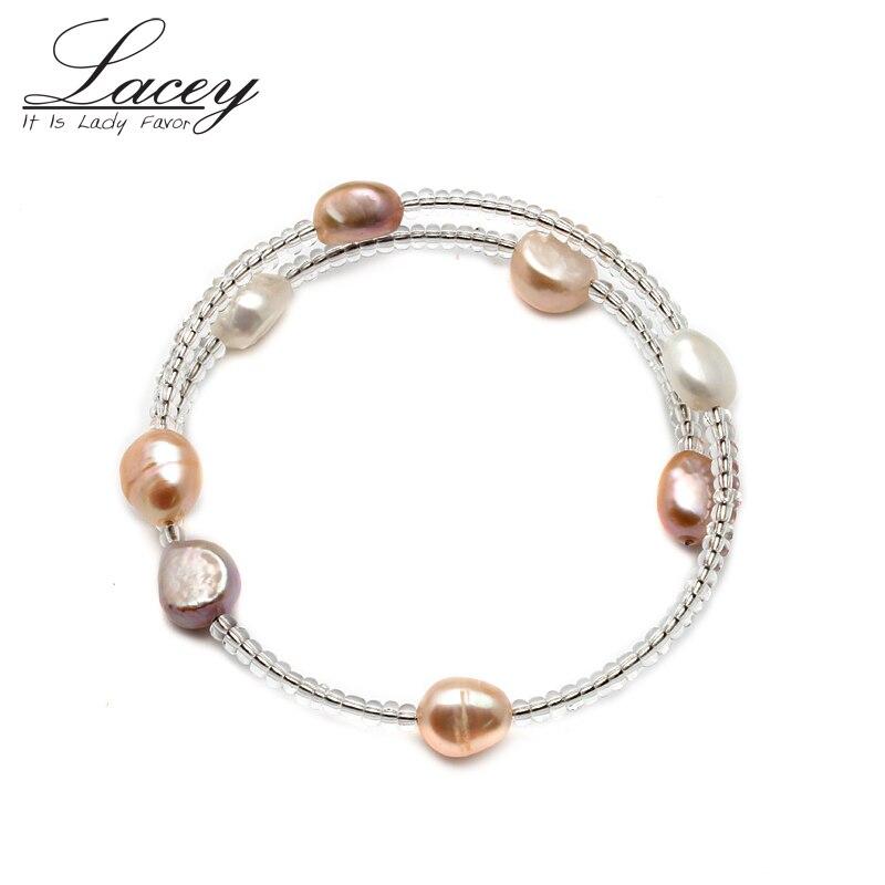 Cheap Freshwater Pearl Bracelet,Cultrued Real Bracelet For Women,Pearl Jewelry Gift Drop Shipping