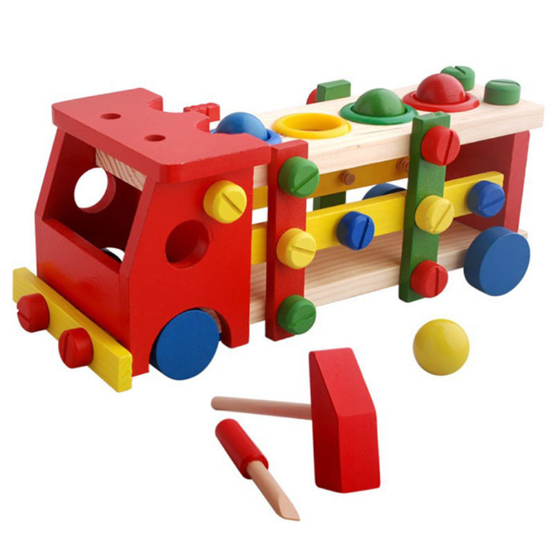 Math Toys Toys & Hobbies Wooden Educational Preschool Toddler Toys For Boys Girls Montessori Toy Bm88 We Take Customers As Our Gods