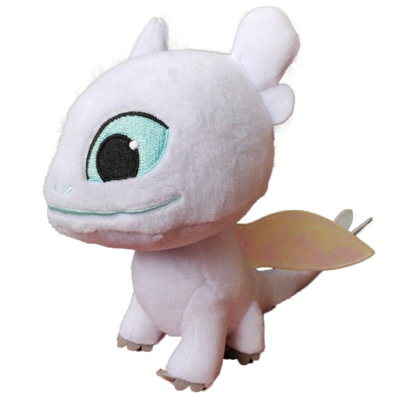 20 pcs lot 19 5 cm How to Train Your Dragon White Black Dragon White Toothless