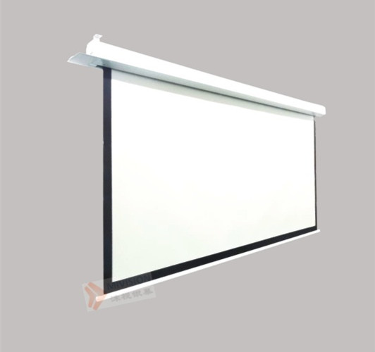 Ceiling recessed electric screen1