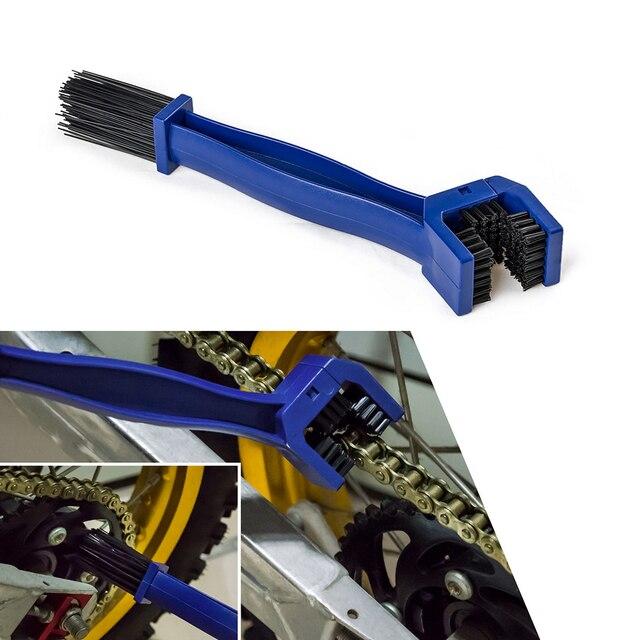 Motorcycle Chain Gear Dirt Clean Brush For Kawasaki Z650 Z750 Z800 Z900 Z1000 Versys 650 1000 Z250 Z300 HP2 1