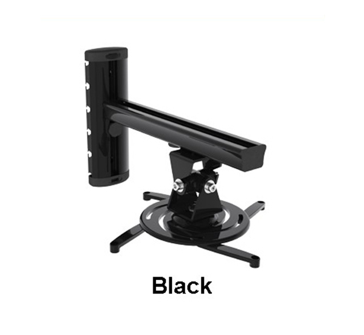 Aluminum Alloy 360 Degree Projector Wall Mount Full Motion Retractable Universal Projector Hanger Bracket PR03 in TV Mount from Consumer Electronics