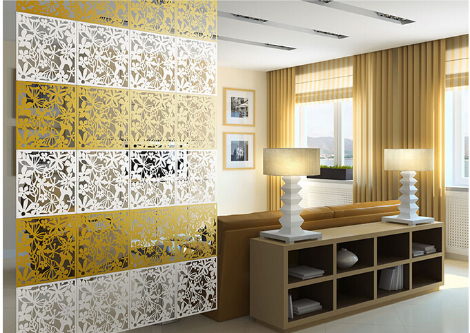 Online Shop Room Dividers Screen Partition Bedroom Wall Post Entry Living 8pcs Lot