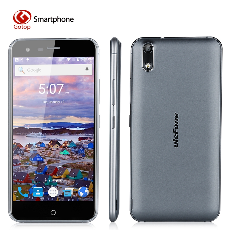 original ulefone paris x 5 0 inch hd screen smartphone android 5 1 quad core cell phone 2g ram. Black Bedroom Furniture Sets. Home Design Ideas