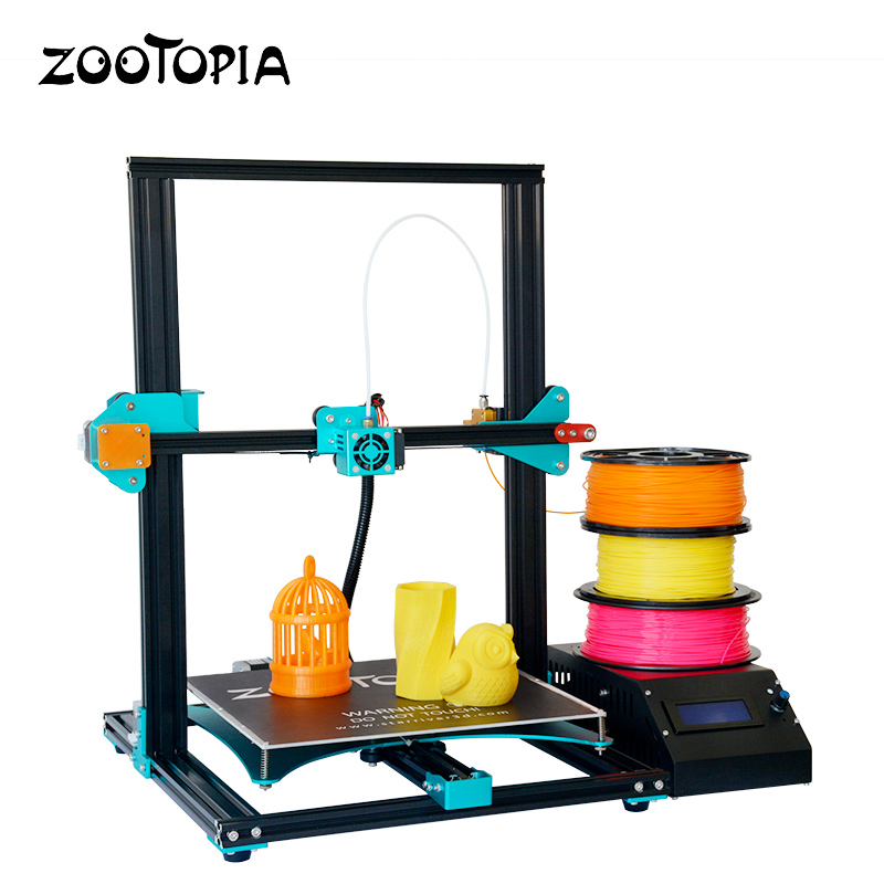 Newest Easy Assemble 3D Printer Aluminum Frame DIY Kit 3d