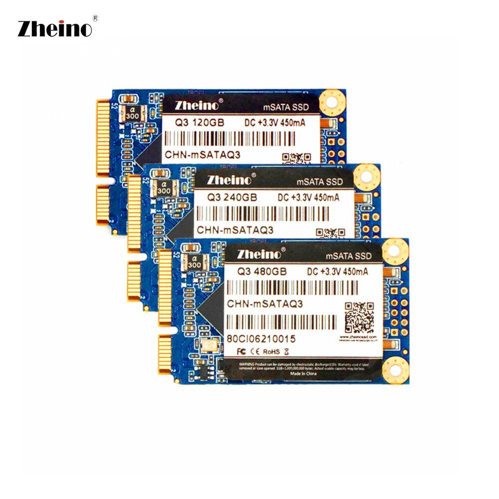 mSATA 120GB 128GB 240GB 256GB 480GB SSD Hard Disk Dirve 3D TLC NAND Flash Memory Zheino Internal SSD For PC LAPTOP DESKTOP zheino 3d 60gb ssd sata3 hard dirve 3d tlc nand flash memory internal solid state disk drive for pc laptop desktop macabook