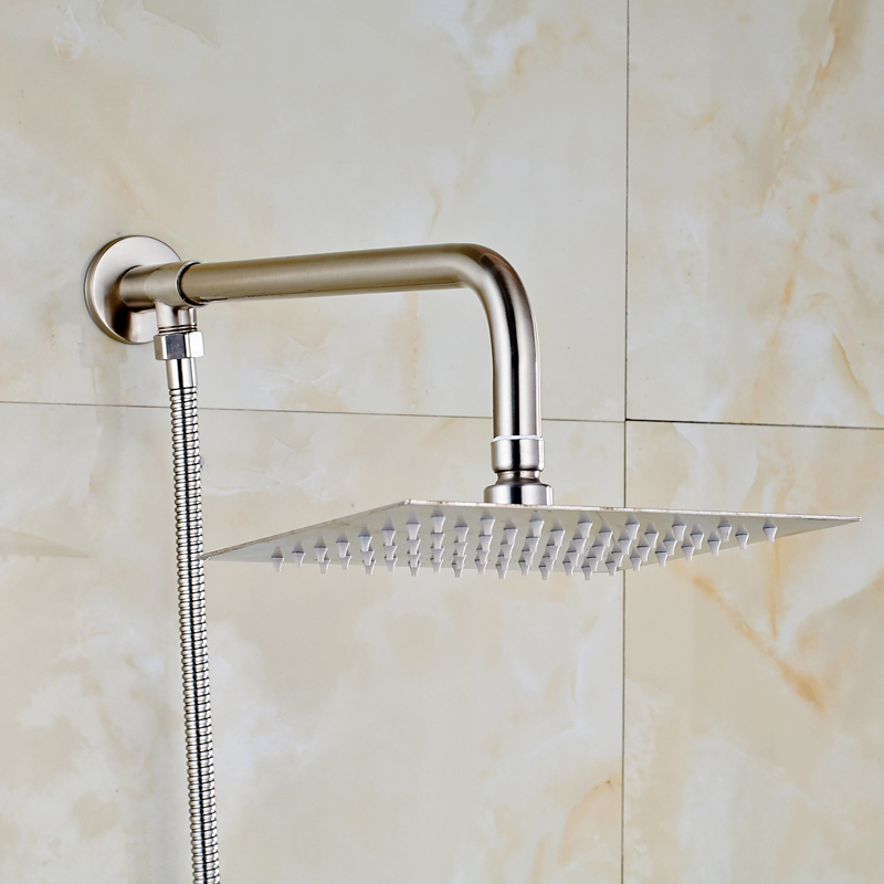 Nickel Brushed Solid Brass Bathroom 8\
