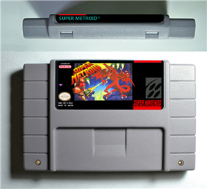 US $9 98 |RPG Game Cartridge SuperMetroid Super Metroided or HyperMetroid  or SuperMetroid Justin Bailey or SuperMetroid PHAZON Hack-in Replacement
