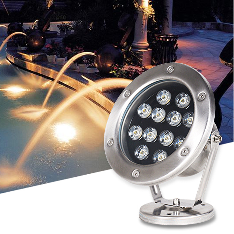 Led Lamps Forceful Hot Sale Led Fountain Light 6w 9w 12w 18w Led Pool Light Free Ac12v Ac24v Underwater Lights Fountains Waterproof Ip68 Beautiful In Colour