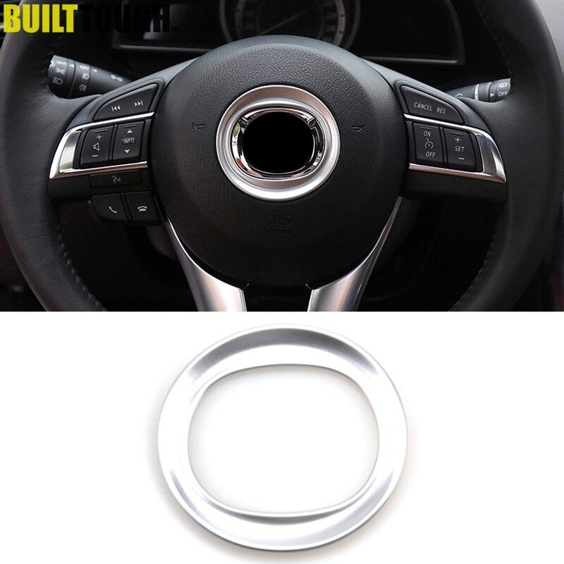 Fits for Mazda CX-5 CX5 KE 2012 2013 2014 2015 2016 Chrome Dashboard Instrument Gauge Panel Cover Trim Strip Decoration Car Styling