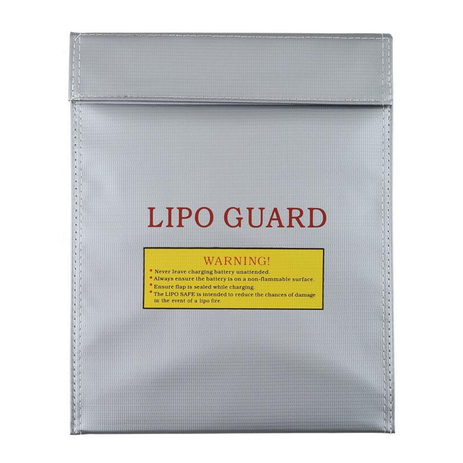 1 pcs Heat-resistance Explosion-proof Fireproof RC LiPo Li-Po Battery Charging Sack Safe Safety Guard Bag Sleeve 7 x 9 Inch