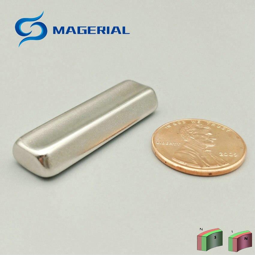 2 48pcs Grade N45 Water Soften NdFeB Magnet Arc R16xr10x45deg.x36 mm Motor magnet for generators wind turbine Neodymium Magnet