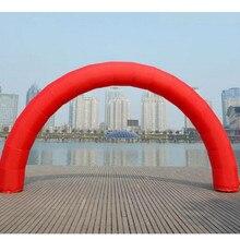 Скидка 20 футов* 10 футов D = 6 м/20 футов надувная красная Арка реклама Быстрая RH