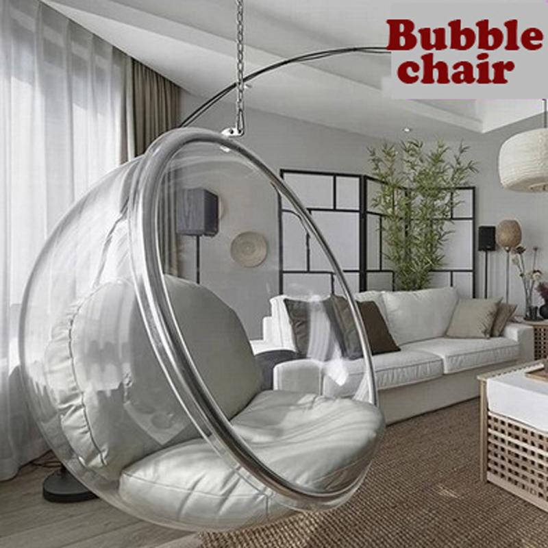 Space Chair,bubble Chair,indoor Swing Chair,space Sofa,transparent Sofa,Hanging  Bubble Chair+Acrylic Material+Transparent Color In Living Room Sofas From  ...