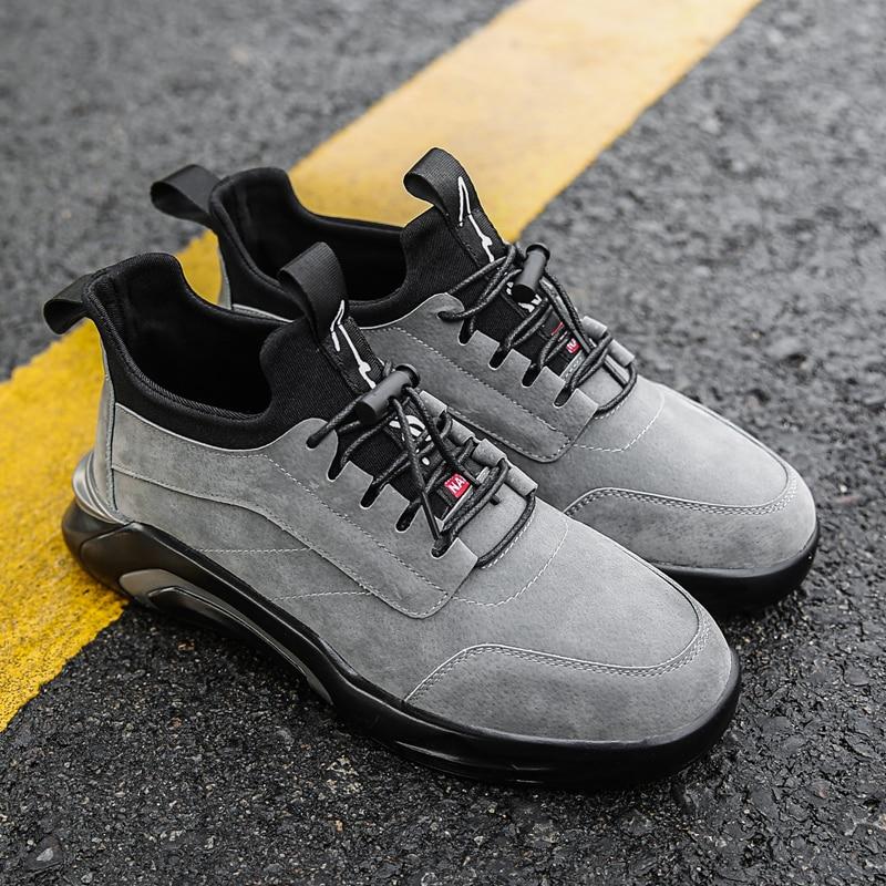 2018 Spring/Autumn Men's Vulcanize Shoes Fashion Sneakers Men Casual Shoes Flats Men Shoes Chaussure Homme Designer Sneakers 4