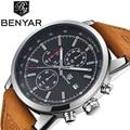 2018 BENYAR мужские часы модные хронограф спортивные мужские часы Топ бренд Роскошные военные кварцевые часы Relogio Masculino
