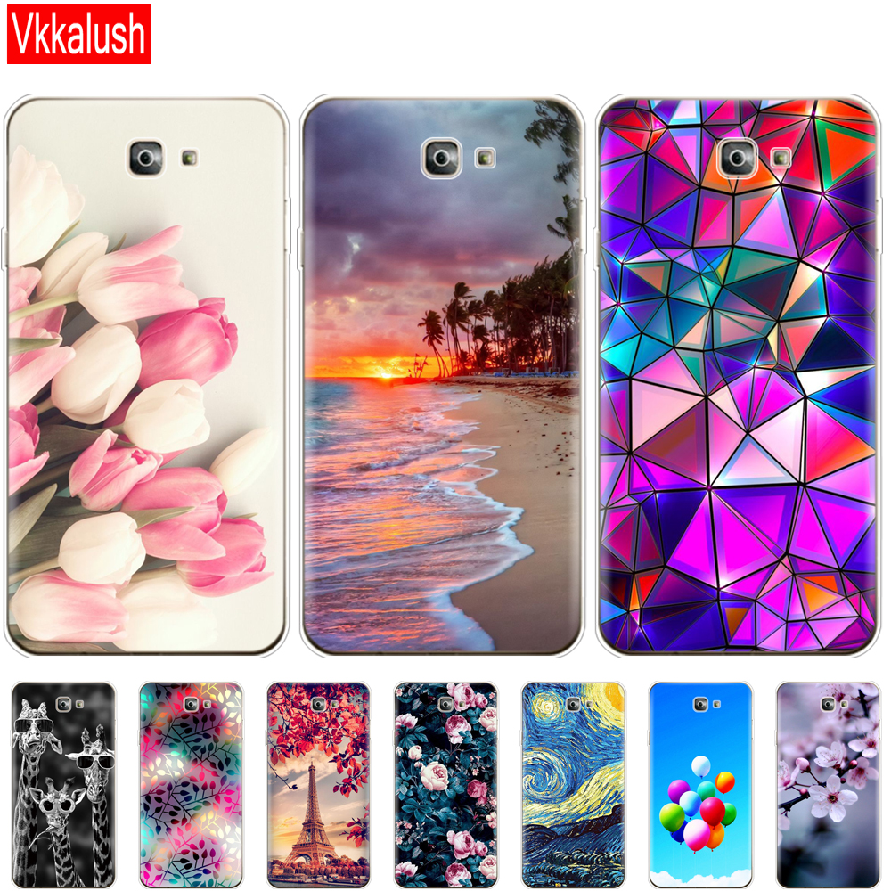 For Samsung J7 Prime 2 Case cute Silicon Soft TPU Case For Samsung J7 Prime 2 Case J7 Prime2 Cover G611 G611F 2018 5.5 inch image