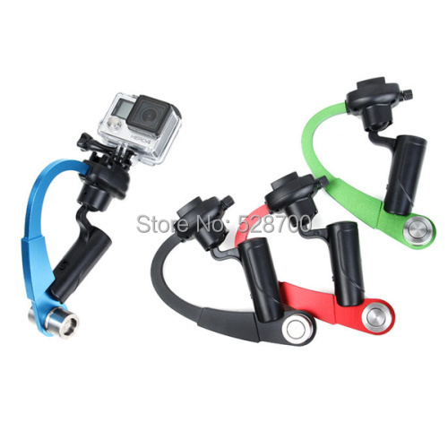 Camera GoPro Handheld Stabilizer Steady cam bow shape for xiaomi yi Camera Gopro Hero HD 4
