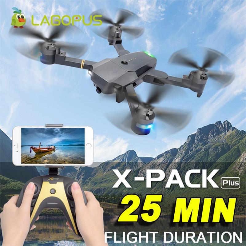 Lagopus XT-1 плюс 25 минут Drone батареи 5MP FPV WI-FI 1080 P Дроны с камерой HD мини-Дрон Квадрокоптер складной Дрон челнока