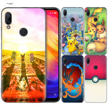 Silicone Coque Case for Xiaomi Redmi Note 7 6 5 Pro Mi A1 A2 8 Lite 9 GO Poco F1 S2 4 4X Plus Cartoon Pokemons(China)