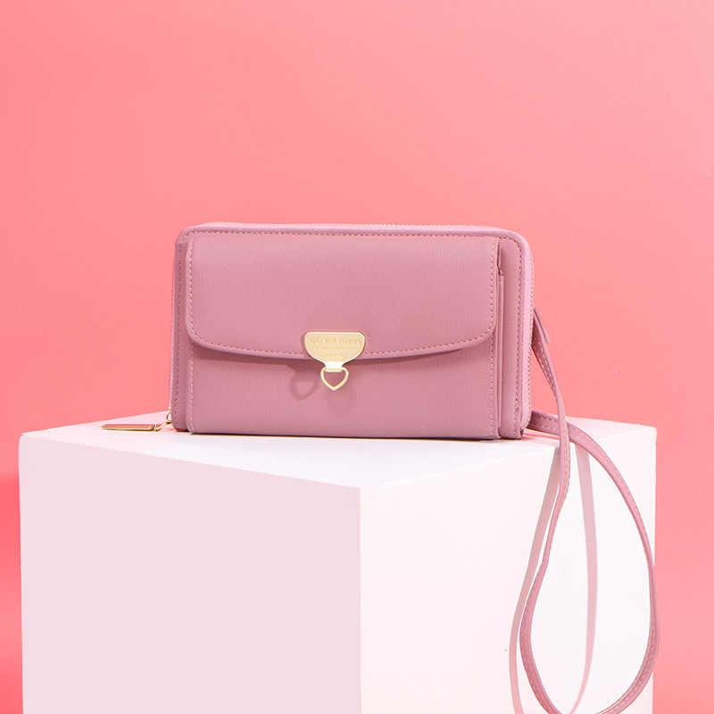 Weichen Multi-Fungsi Wanita Kecil Bahu Tas Berkualitas Tinggi Wanita Mini Tas Selempang Wanita Messenger Sac Dompet Clutch Bolsa